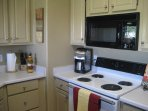 Cute full kitchen open to dining and LR.