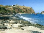 Ocotal is a calm, sandy beach, about a third of mile long. It's ideal for swimming and snorkeling.