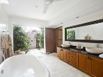 Bathroom with bathtub
