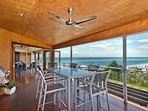 Mid Level - BBQ Deck with views!