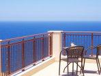 Breathtaking sea view from the veranda