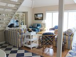 This 2 BR home is bright and cheery. It has high ceilings & gets great sunlight.