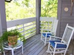 This 2 bedroom villa has fabulous tidal marsh views and is in a great location.