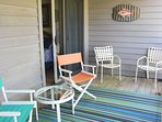 Step to the screen porch and sip your morning coffee.