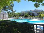 Quiet and peaceful, this quiet pool is open to owners and visiting Racquet Club guests.