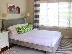 The 2nd bedroom has a queen bed.
