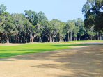 You will love the views of the golf course just beyond the backyard trees.