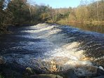 Bessie Dam River Faughan - 100 meters from house