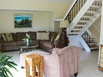 This updated villa is perfectly located near Seabrook's beaches and amenities.