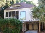 779 Spinnaker is nestled amid the tropical landscape yet close to the beaches.