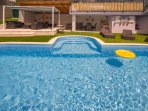 34 square meters pool for your pleasure