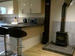 Byron Lodge self contained apartment within grounds of Kirkfields Equestrian Ctr