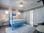2nd Floor Master King Suite with Private Bath