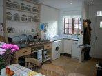The 'farmhouse style' kitchen/breakfast room