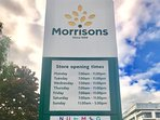 Morrisons Opening Times