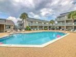 Splash around in the community pool as you soak up the Florida sunshine!