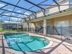 Enjoy a sunny Florida getaway when you stay at this incredible 6-bedroom, 4-bathroom Brentwood Design vacation rental...