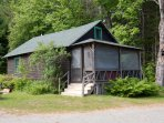 Barn Camp on Clearwater Lake, Farmington (Industry), Maine
