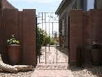 Your own gate and walkway