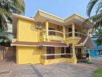 Property exterior.Front Entrance of Villa Calangute Phase 2