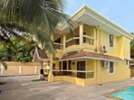 Property exterior.Villa Calanguteblends architecture and design to deliver a breathtaking holiday experience