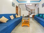 Living room.Villa Calangute Phase 2 offers the finest combination of style, luxury, comfort and service under one...