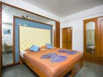 Bedroom 2.Bedrooms offer havens of space, comfort and serenity