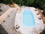 Adult pool to cool yourself in Costa Rica's hot season