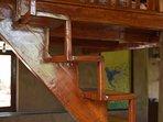Bedroom 2 - Forktail Suite - Loft stairs