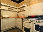 Fully Equipped Chef's Kitchen with Smeg Appliances Throughout