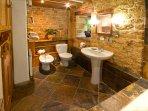 Chestnut bathroom overview.