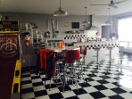 Your own fully-functioning 50s Diner setting.
