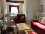 Spacious bedroom/lounge situated on 2nd floor