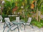 Beachwalk heated pool deck
