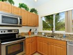Fully equipped modern kitchen - upgraded with granite counter tops and all stainless steel appliances