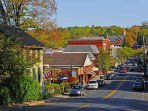 Town of Lewisburg only 4 miles away with fine dining and quaint shops.