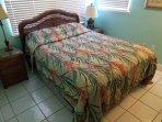 Bedroom #2 - Queen bed on lower level