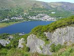 View of Llanberis from Padarn Country Park