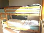 bunkbed in small bedroom