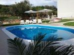 opened pool