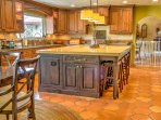 The owner's full kitchen, formal dining room and great room can be arranged to use at an additional cost on a...