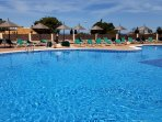 Three swimming pools.  Pool 1