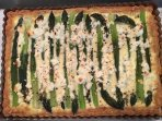 Puff Pastry Asparagus Tart