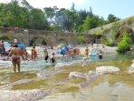 Swimming river Vis