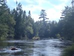 Beautiful shot of the AuSable!