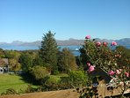 A lovely Autumn afternoon from Loch Nevis cottage.
