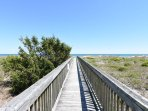 Wrightsville Dunes Walkway to the beach