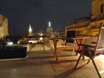 on your terrace at night- an impression not to forget...