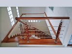 Two floors. All villa is 280m2 .