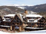 Stunning views surround you as you enjoy your adventure nestled at the base of Breckenridge Ski Resort